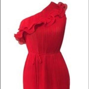 Valentine's Day Dress ❤️💕 Pleated Red Dress